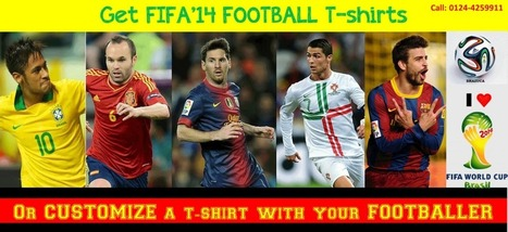 FIFA'14 FOOTBALL SEASON IS HERE…GET FIFA FOOTBALL T-shirts | LetsFlaunt.com | Letsflaunt | Scoop.it