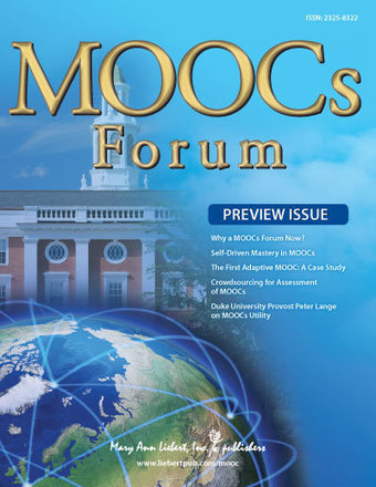 Volume 1, Issue P | MOOCs FORUM | Table of Contents | Educación a Distancia (EaD) | Scoop.it