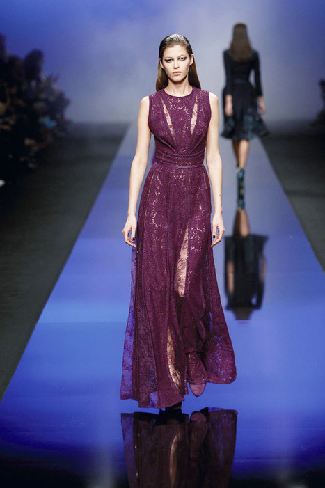 Elie Saab Fall RTW is a Treasure Trove of Jewel Tones | Fashion News by JustLuxe | New fashion trends for women | Scoop.it