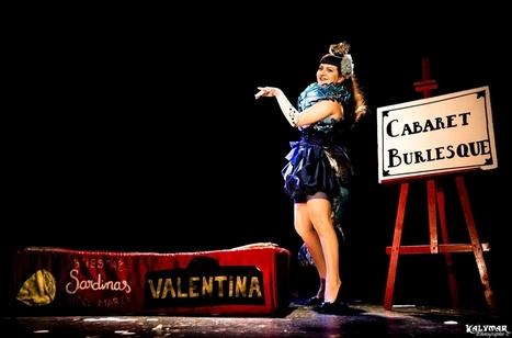 Le OFF rose - Cabaret Burlesque | Valentina del Pearls (Le Burlesque Klub) | Scoop.it