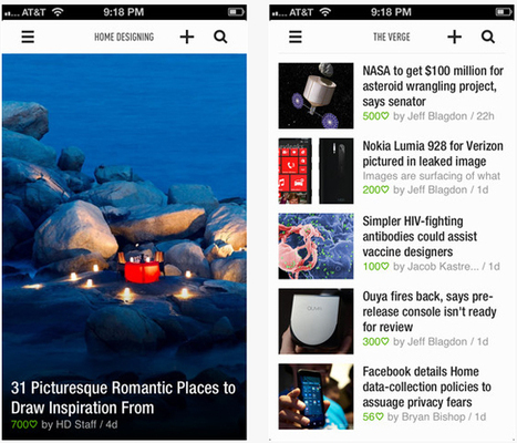 L'appli Feedly désormais dépourvue de Google Reader | INFORMATIQUE 2014 | Scoop.it