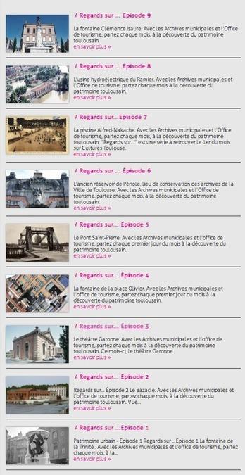 Patrimoine : la compil' pour découvrir la ville - Lire - Toulouse cultures | A la découverte du  patrimoine | Scoop.it