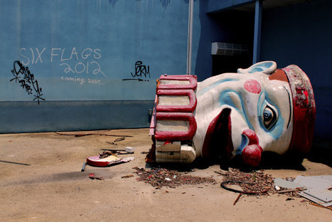 Deserted Places: The abandoned Six Flags New Orleans amusement park | Urban Decay Photography | Scoop.it