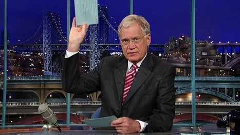 """From the home office…"": 10 David Letterman Top Ten Lists 