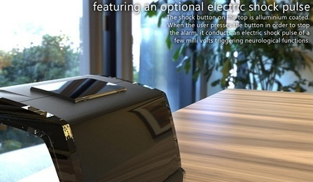 SingNshock is an alarm clock that electrifies ... - Geeky Tech Blog | geekytechblog | Scoop.it