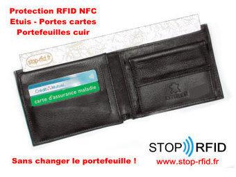 Stop RFID : Kit portefeuille contre l'accès à vos données de vos CB sans contact via NFC RFID | Autres Vérités | Scoop.it