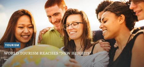 "World tourism reaches ""new heights"" 