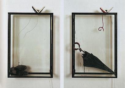 Rebecca Horn:Kafka Zyklus (Kafka Cycle) (detail) | Art Installations, Sculpture, Contemporary Art | Scoop.it