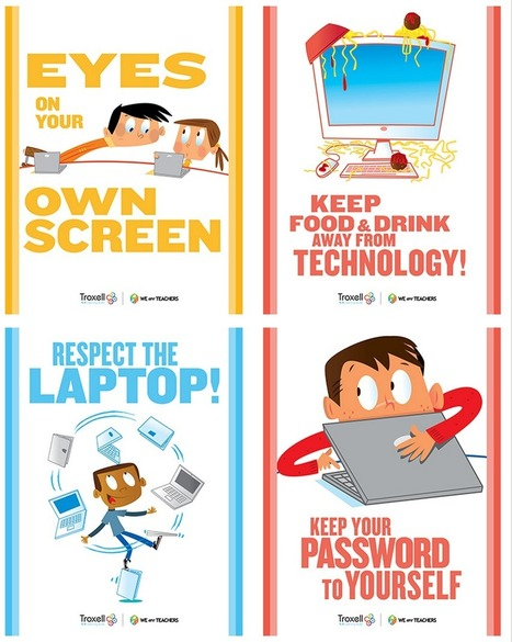 8 Must Have Classroom Posters for Technology Best Practices ~ Educational Technology and Mobile Learning | School Libraries Leading Information Literacy | Scoop.it