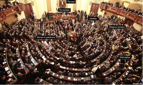 What does Egypt's parliament look like?   Égypt-actus   Scoop.it