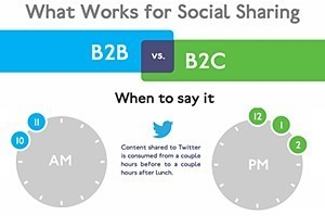 Social Sharing Best-Practices for B2Bs and B2Cs | Bite Size Business Insights | Scoop.it