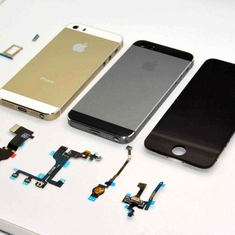 New Leaked Photos Show the iPhone 5S in Graphite | SEO and Social Networking News | Scoop.it
