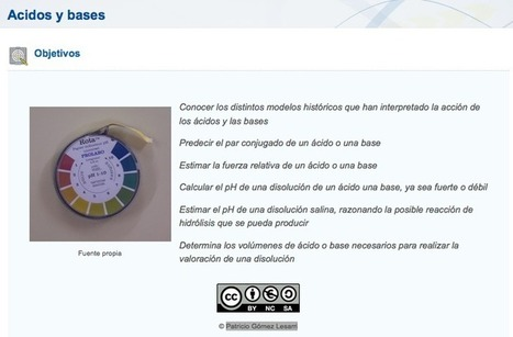 Ejemplo ODE: Ácidos y bases | eXeLearning | Scoop.it
