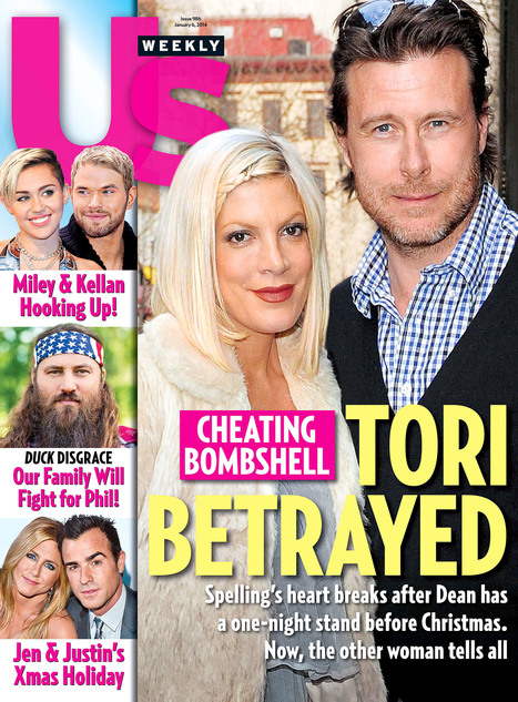 Dean McDermott, 47, Cheats on Wife Tori Spelling With Emily Goodhand, 28 | Hot Holly18-1 | Scoop.it