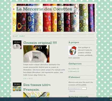 La Mercerie des Cocottes | couture | Scoop.it