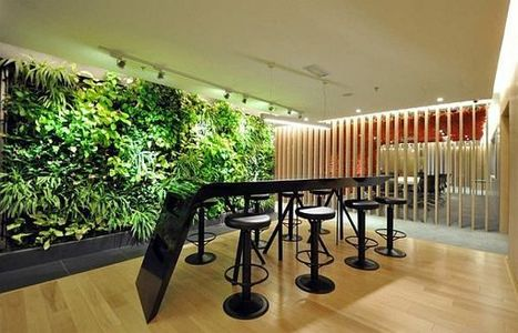 The apbcOffices in Malaysia with a green wall inside | Vertical Farm - Food Factory | Scoop.it
