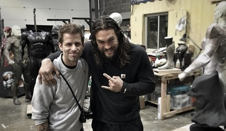 Justice League Behind-The-Scenes Photo Shows Aquaman, Flash, Mera, & More Costumes | Comic Book Trends | Scoop.it