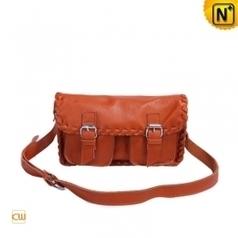 Women Leather Flap Crossbody Bags CW289182 - cwmalls.com   Women leather bags   Scoop.it