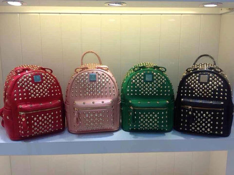 Mcm Full Nail Subsection (4-Color) Large Mini: 24 * 30 * 14 | Designer Bags | Scoop.it
