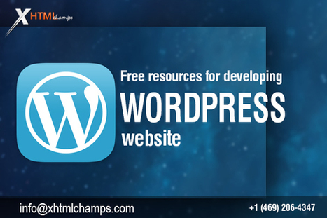 Helpful Resources For Developing A Wonderful WordPress Website | xhtmlchamps blog | Web Design and Development | Scoop.it
