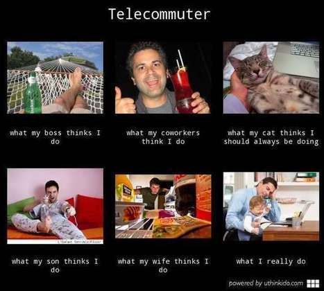 Telecommuter | What I really do | Scoop.it