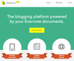 How Evernote and Postach.io helps you create awesome websites - DEG Consulting | Digital Tools and Education | Scoop.it