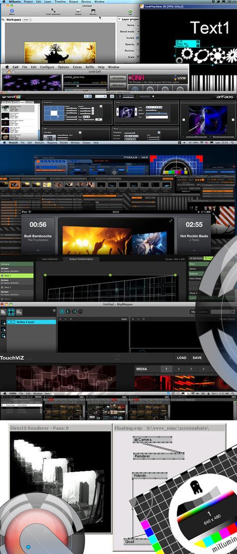 Les 12 meilleurs logiciels pour artistes VJ et Vidéo Mappeur | video mapping | Scoop.it