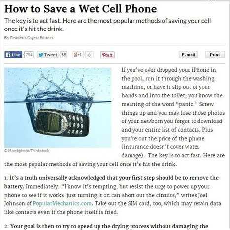 Saving Water-damaged Phones with a Durable Waterproof iPhone Case | VestPac | Scoop.it