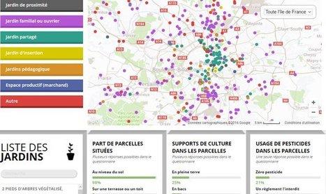 Découvrez la carte participative des espaces en agriculture urbaine d'Ile-de-France | Paris se mobilise pour le climat | Scoop.it