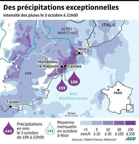 Sur la Côte d'Azur, un violent déluge fait au moins 17 morts et 4 disparus | Actualité des campings en France | Scoop.it
