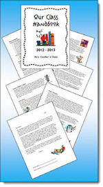 Class Handbook Freebie to Customize! | Education and teaching | Scoop.it