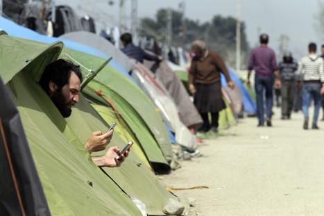 Le téléphone portable, instrument deSURVIE pourlesréfugiés | Le BONHEUR comme indice d'épanouissement social et économique. | Scoop.it