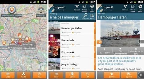 3 applications Android pour vos voyages | Applications Iphone, Ipad, Android et avec un zeste de news | Scoop.it