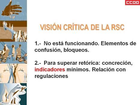 Responsabilidad ¡SOCIAL! | Boletín RSE Servicios CCOO Nº 638 Año 11 - III Época | laboral | Scoop.it