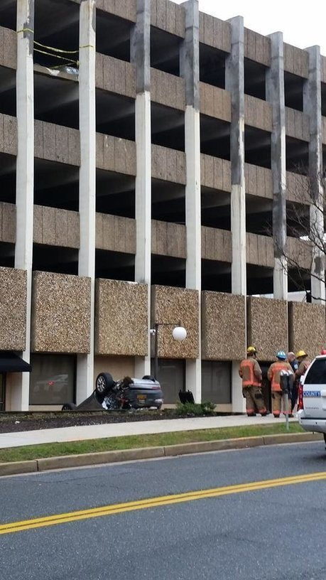Car Flips 4 Stories From Parking Garage, Driver Escapes Without Serious Injuries | Workplace Health and Safety | Scoop.it