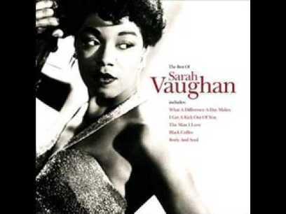 Goodnight My Love - Sarah Vaughan - YouTube | fitness, health,news&music | Scoop.it