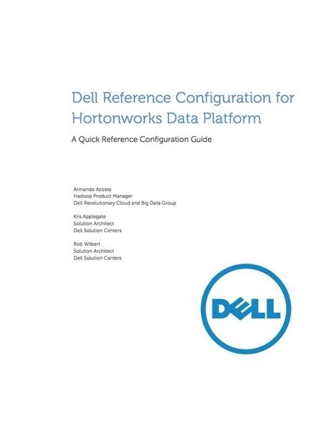 Reference Configuration for Hortonworks Data Platform on Dell | Big Data Brazil | Scoop.it