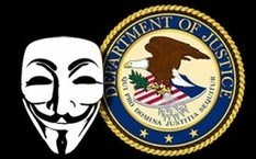Anonymous Attacks Justice Dept as FBI Shuts Down File-Sharing Site | Technoculture | Scoop.it