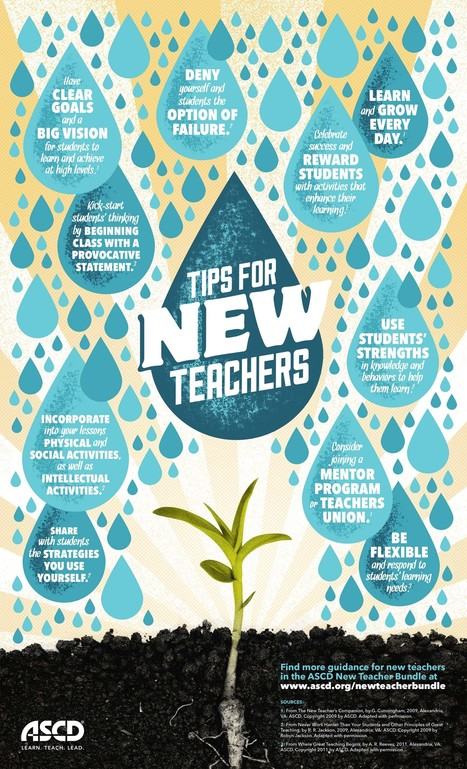10 Useful Tips for New Teachers Infographic - e-Learning Infographics   Aprendiendo a Distancia   Scoop.it