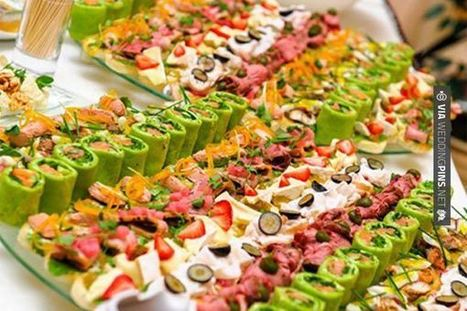 Wedding Food Ideas - Indian #Wedding #Menu Salads Ideas | wedding pictures | Scoop.it