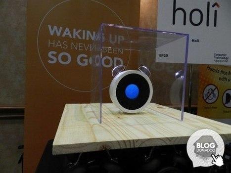 Holi présente son réveil connecté Bonjour au #CES2016 - News Domotiques by Domadoo | La technologie au service du quotidien - Technique | Scoop.it