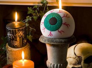 Créer une bougie en forme d'oeil pour #Halloween #tuto #DIY | Best of coin des bricoleurs | Scoop.it