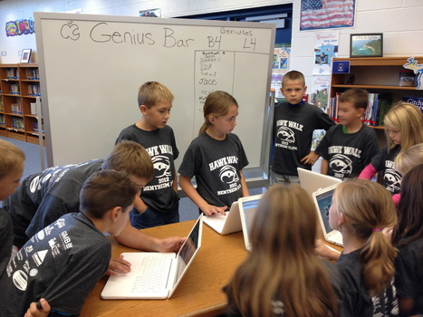 Put a Genius Bar in your classroom! | Into the Driver's Seat | Scoop.it