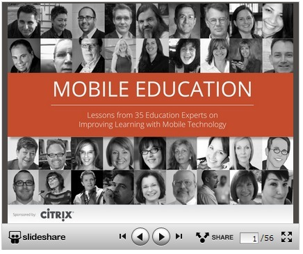 Mobile Education – Lessons from 35 Education Experts on Improving Learning with Mobile Technology | Sinapsisele 3.0 | Scoop.it