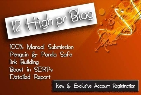 socialboycf : I will create 12 high PR seo backlinks and 30 unique social signals post for $5 on www.fiverr.com   Social media   Scoop.it