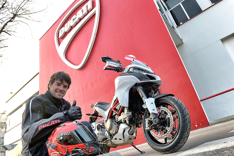 Carlos Checa chooses the new Ducati Multistrada 1200 | Motorcycle Industry News | Scoop.it