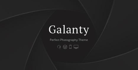 Galanty - Fullscreen Creative Portfolio WP Theme - WordpressThemeDB | WordpressThemeDatabase | Scoop.it