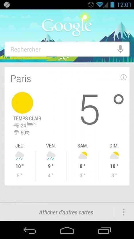 Google Now, une meilleure réactivité dans les recherches et des réponses vocales en français   Android's World   Scoop.it