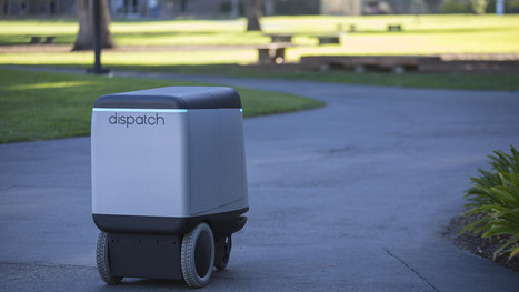 This robot could one day deliver your packages | digital mentalist  and cool innovations | Scoop.it