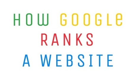 Visualistan: How Google Ranks a Website #infographic | Libraries In the Middle | Scoop.it